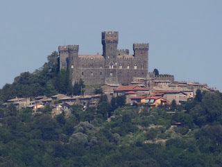 The castle at Torre Alfina, near Acquapendente