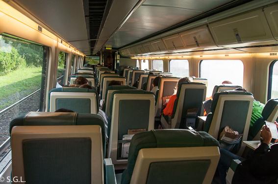 Tren Quebec Montreal