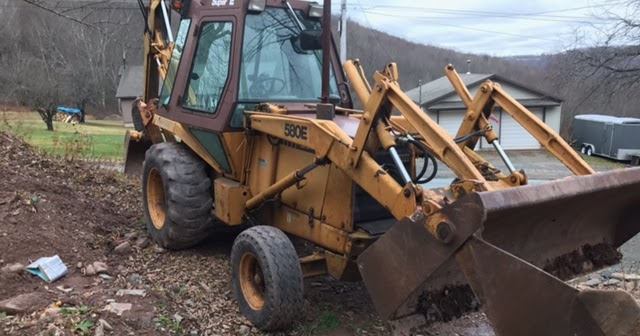 Newsearch Equipment Amp Salvage 1986 Case 580e 50hp Backhoe