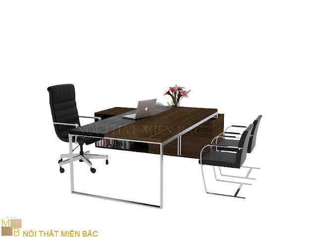 Dòng bàn giám đốc hiện đại có chất lượng tốt thường mang đến vẻ đẹp sang trọng và tạo sự bề thế nhất cho vị lãnh đạo