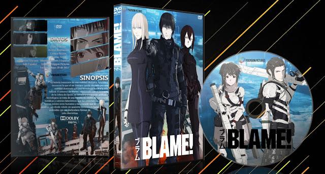 Blame! The Movie   Cover DVD   MEGA  