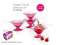Dessert Cup Promo Tupperware September 2016
