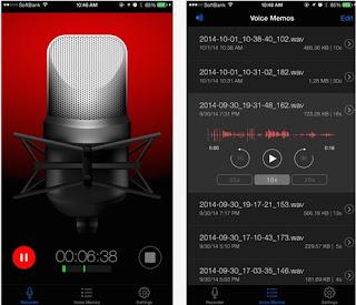 Aplikasi Perekam Suara iPhone Terbaik