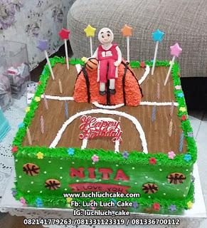 Kue Tart Basket Untuk Anak Cewek