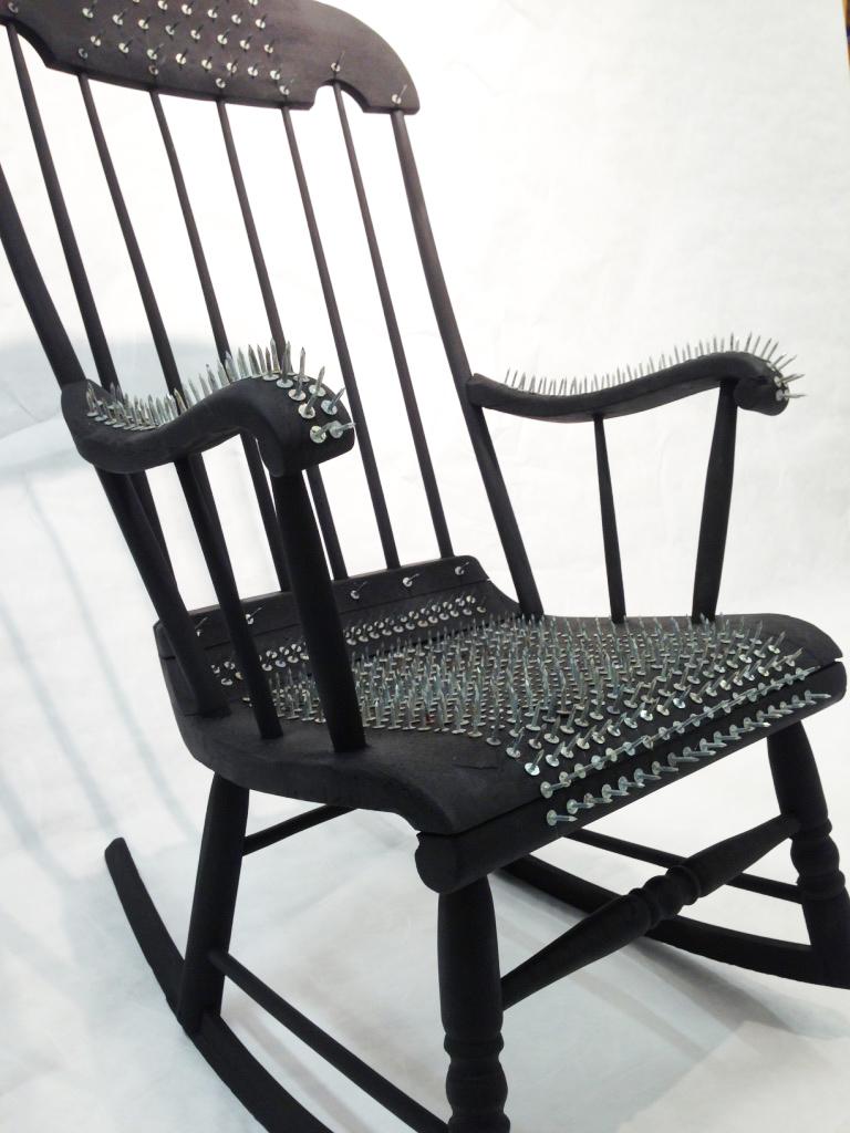 Retirement Rocking Chair Artist