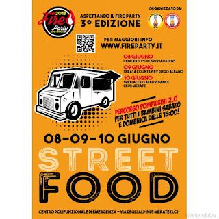 Street Food 8-9-10 giugno Merate (LC)