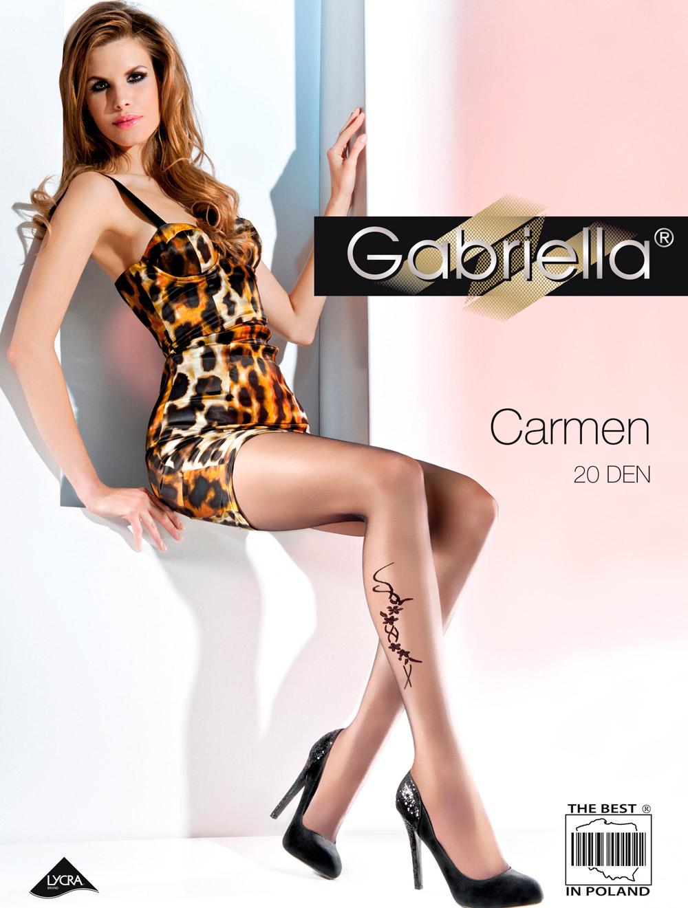 Gabriella Classic Quality Feminine Silky Stretch Tights Lycra High Waist 20 Den