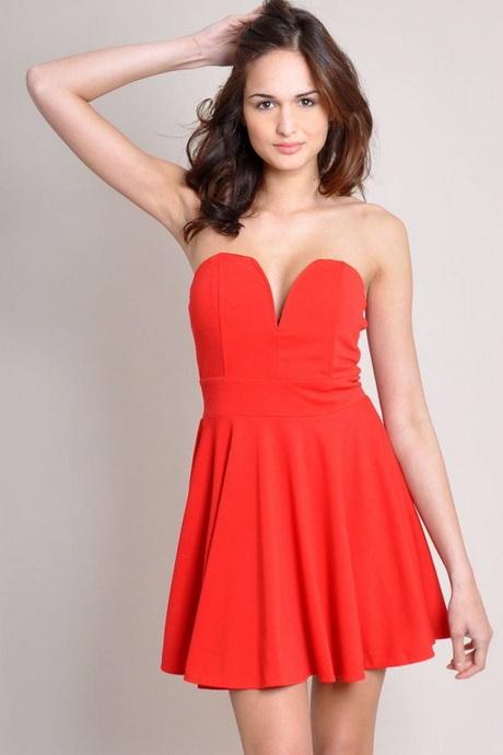 vestidos rojos ala moda