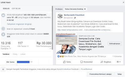 8 Langkah Cara Beriklan di Facebook