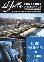 Promo code SDVILLE saves 10% on tickets to La Jolla Concours D'Elegance - September 19-20!