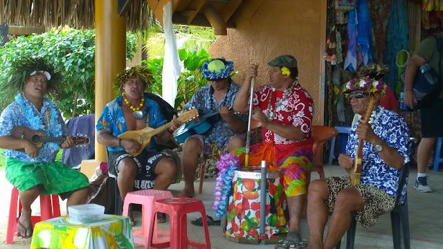 local band in bora bora