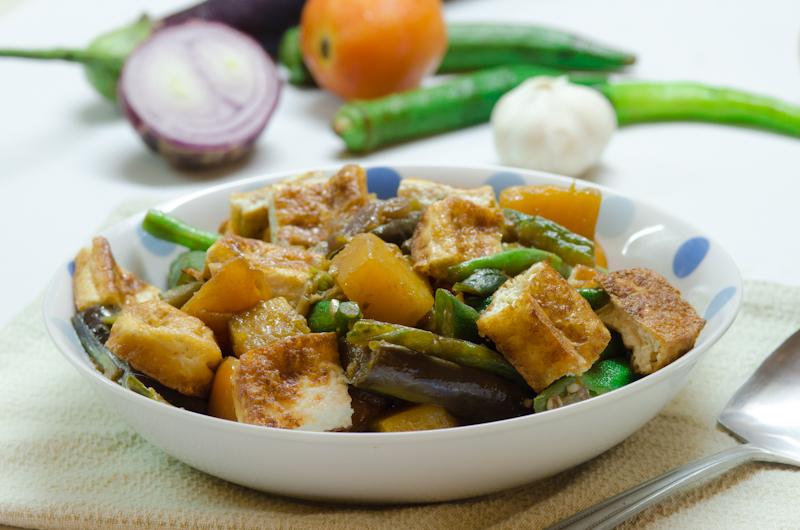 Lekkericious Vegetarian Pinakbet