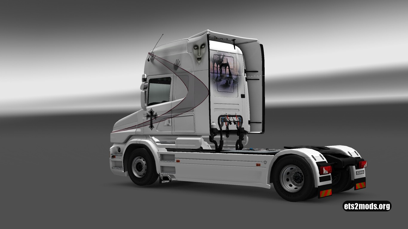 Gothic Skin for Scania T