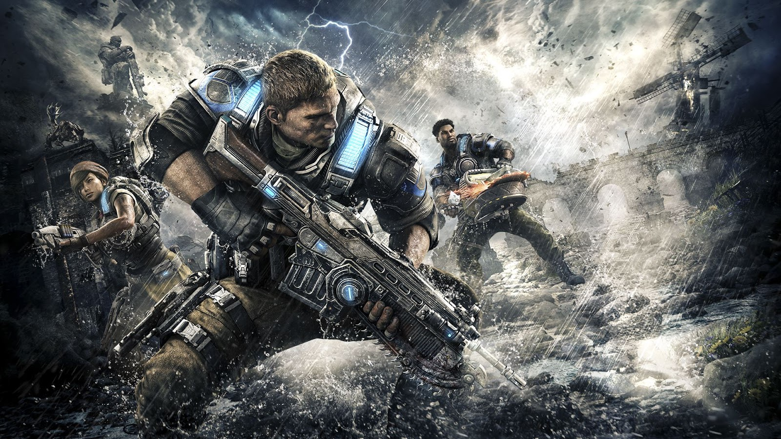 """Universal Pictures está desenvolvendo filme de """"Gears of War"""""""