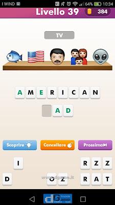 Emoji Quiz soluzione livello 39
