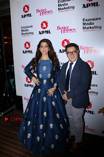 Bollywood Actress Juhi Chawla Launchs Better Homes 10th Anniversary Celetion Cover  0018.JPG