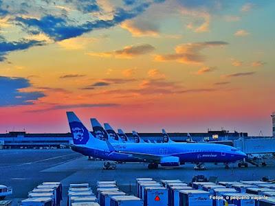 avião para alasca