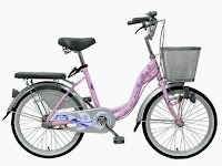 City Bike Wimcycle Mini Vanilla 20 Inci