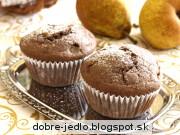 Hruškové muffiny - recept