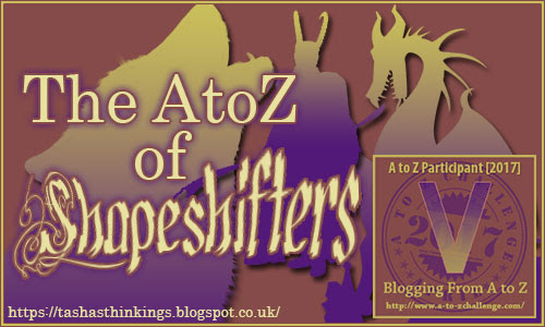 AtoZ2017 - V is for Vampire & Arthur & Samson Vines #AtoZChallenge