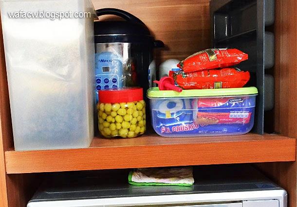 simpan jeruk cermai pada suhu bilik untuk sehari lagi