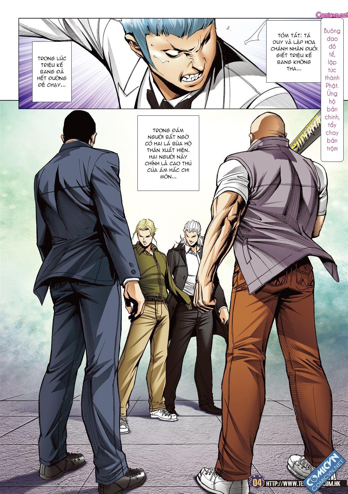 Người Trong Giang Hồ chapter 2078: tranh bảng xếp hạng trang 3