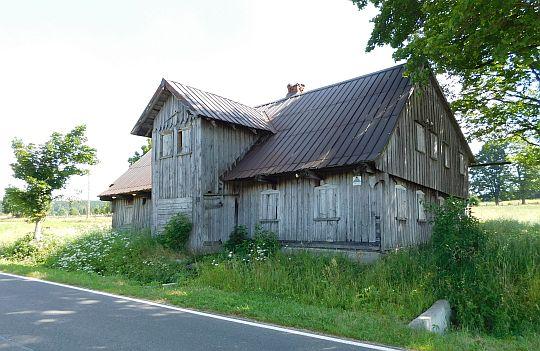 Zabytkowy dom sudecki.