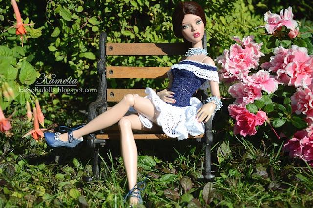 Handmade crochet dress for Emma Jean