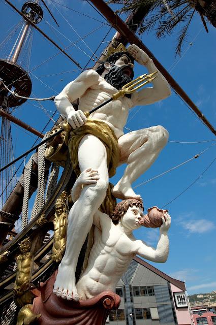statek z filmu Romana Polańskiego Piraci gdzie jest?