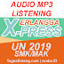 Audio Listening Erlangga X-Press UN 2019 MP3 (+ Tapescript)