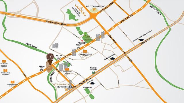 Vị trí Roman Plaza