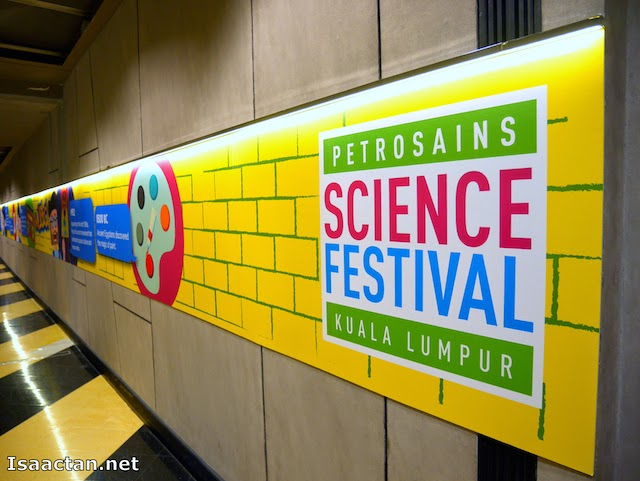 Petrosains Science Festival 2014 @ KLCC, Arts and Music Through Science