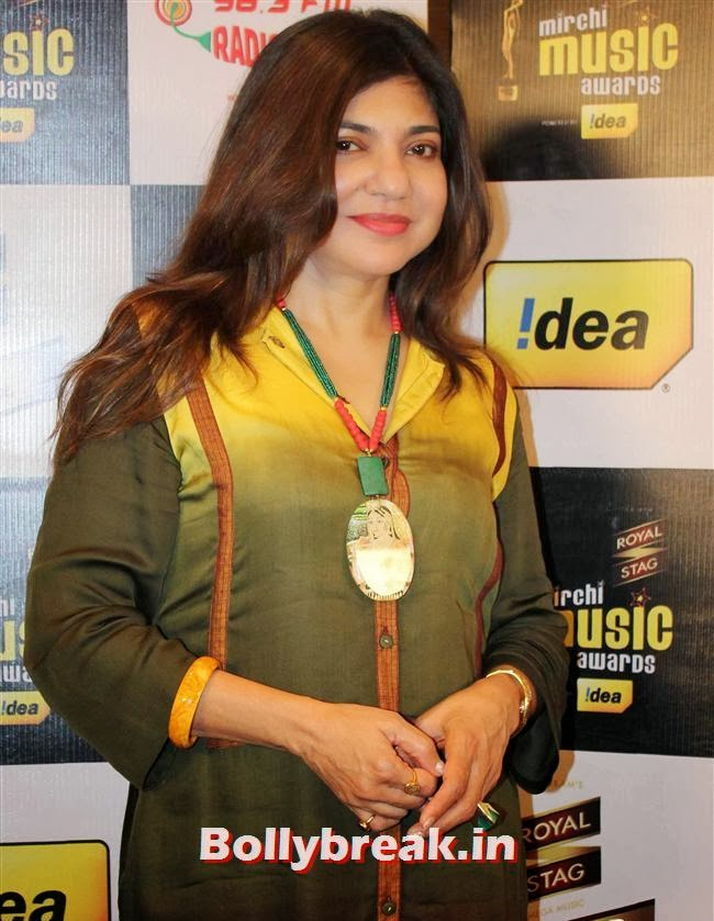 Alka Yagnik, Mirchi Music Awards Jury Meet