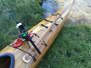 Kayak Fishing - Pole Holder & Greenland Storm Paddle