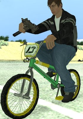 Free Download Bully SE - BMX Mod for GTA San Andreas.