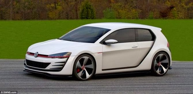 Yeni Golf Design Vision GTI