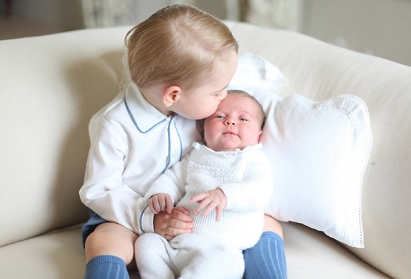 Duchess Catherine of Cambridge, Kate Middleton, Princess Charlotte, Prince George