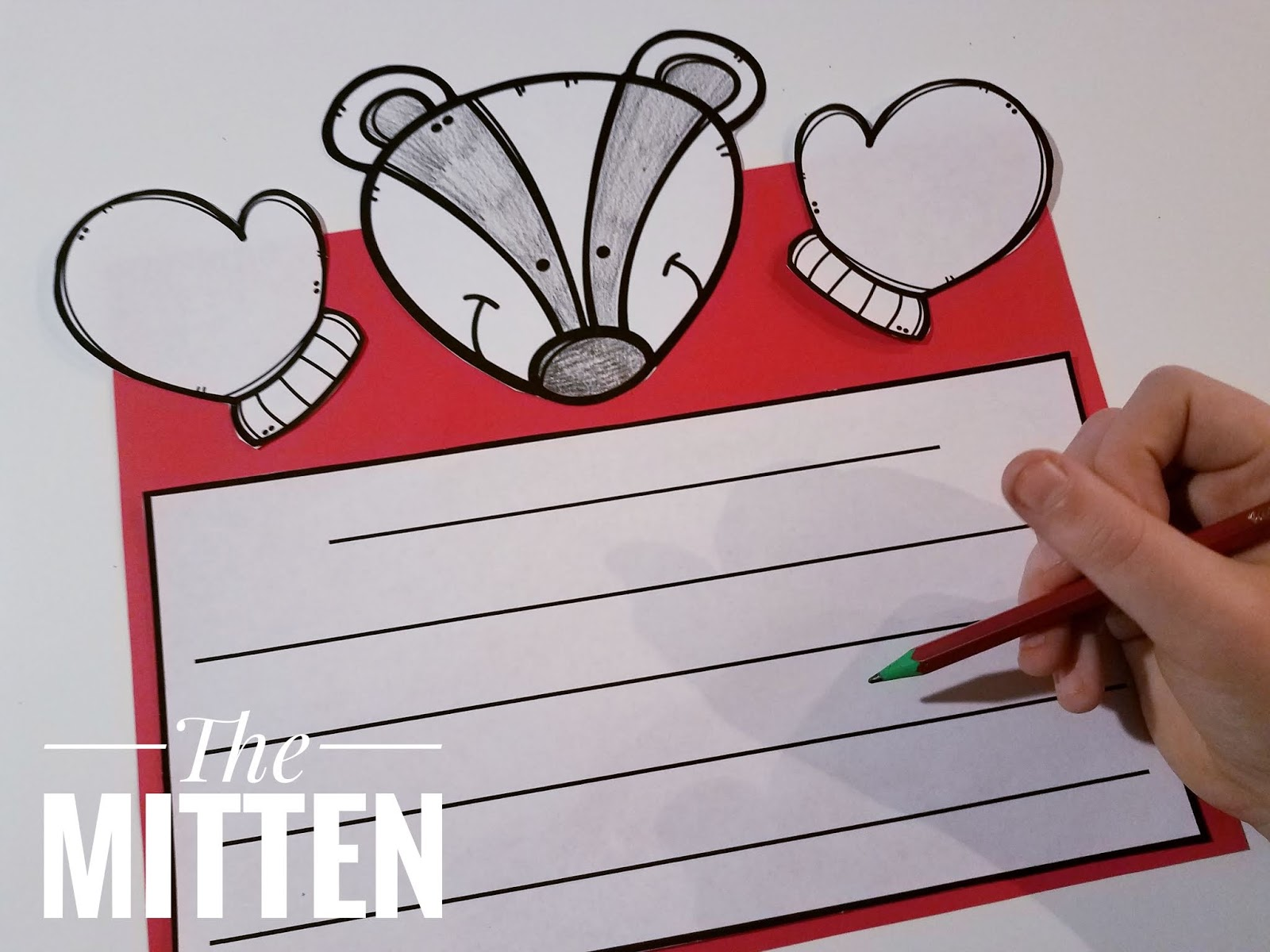 16 Literacy And Math Activities For The Story The Mitten By Jan Brett