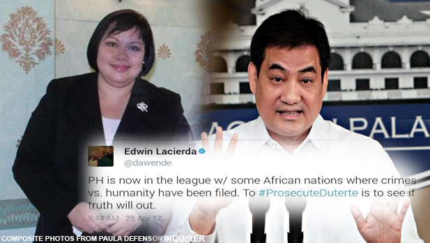 Paula Defensor Knack slams Lacierda: 'You must study int'l criminal law first before opening your mouth'