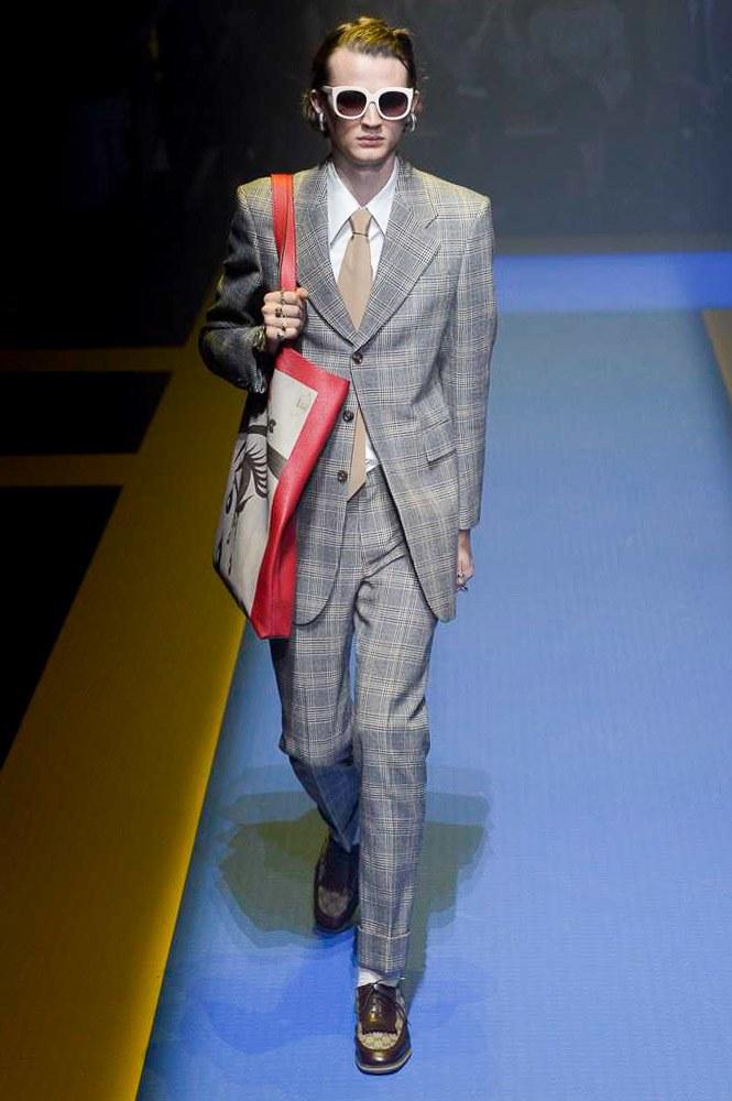 Gucci Spring Summer 2018 Milan Fashion Week Male Fashion Trends