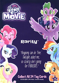 My Little Pony Rarity My Little Pony the Movie Dog Tag