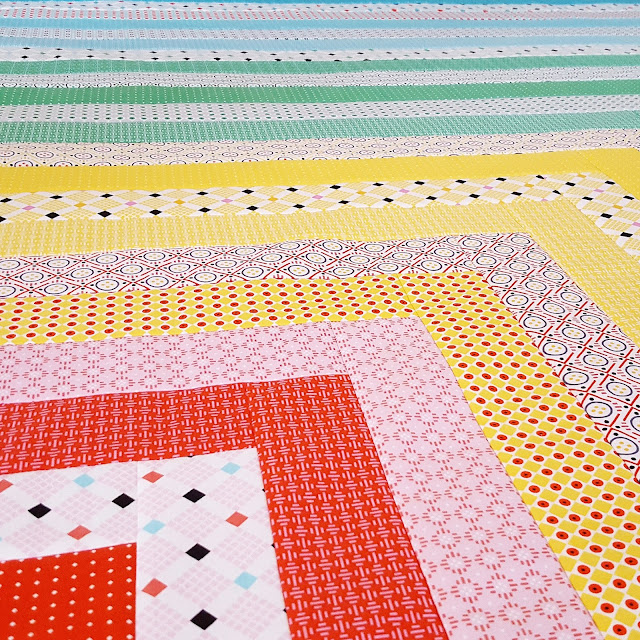 Uppercase Quilt by Heidi Staples for Fabric Mutt