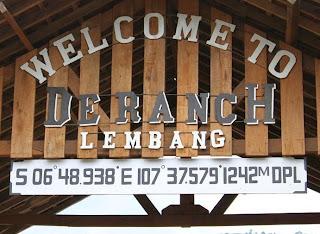 Tiket Masuk Dan Aktifitas De'Ranch Lembang Bandung