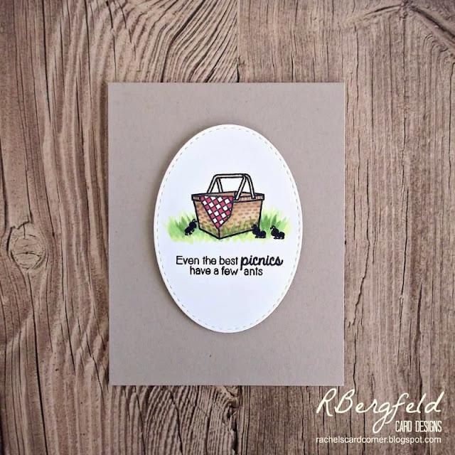 Sunny Studio Stamps: Summer Picnic Customer Card Share by Rachel Bergfeld