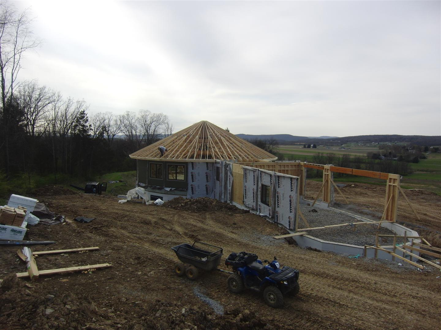 Central Pa Living Roof Trusses
