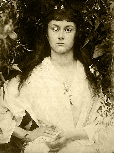 Alice Liddell as a young woman. 1872. Source: Lewis Carroll with a text by Graham Ovenden (Masters of Photography series). McDonald & Queen Anne, London, 1984. In Photos: Remembering Celebrity Photographer Julia Margaret Cameron, history of photography, vintage photos, photography news, photography