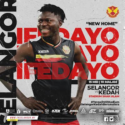 Live Streaming Selangor vs Kedah 15.5.2019 Liga Super