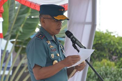 Dan Lantamal II Padang Pimpin Upacara Penutupan TMMD Ke 104 Kodim 0319/Mentawai