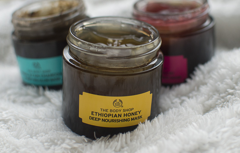 BEAUTY: THE BODY SHOP FACE MASKS