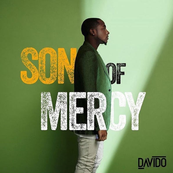 "Davido unveils cover for his upcoming album, ""Son of Mercy"""